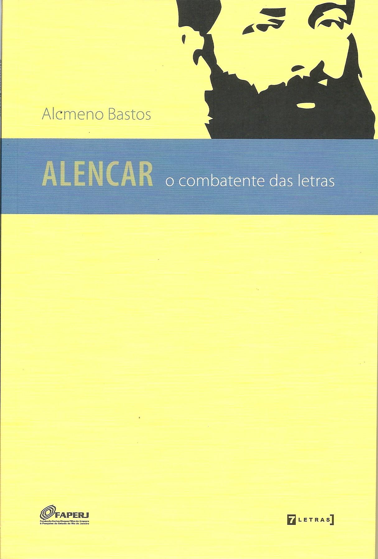 Alencar, o combatente das letras - capa